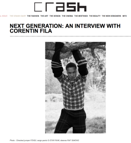 Corentin Fila - Crash magazine